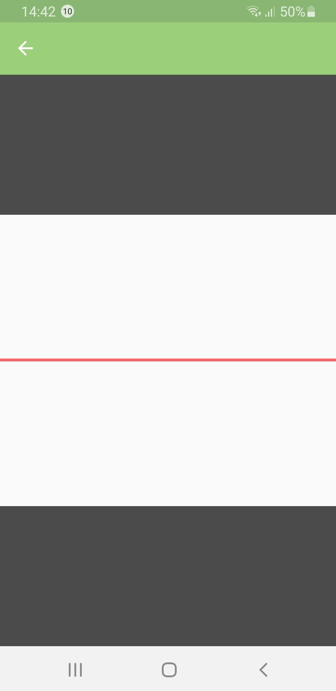 Fehler nach Installation vor Schliessen und Öffnen der App